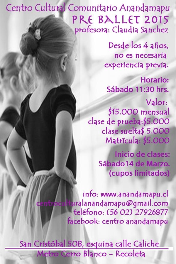pre ballet 2015