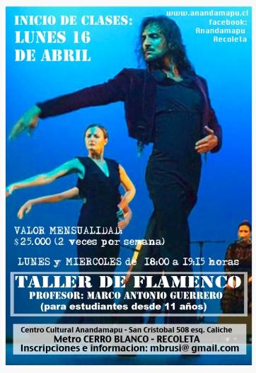 afiche flamenco 2018