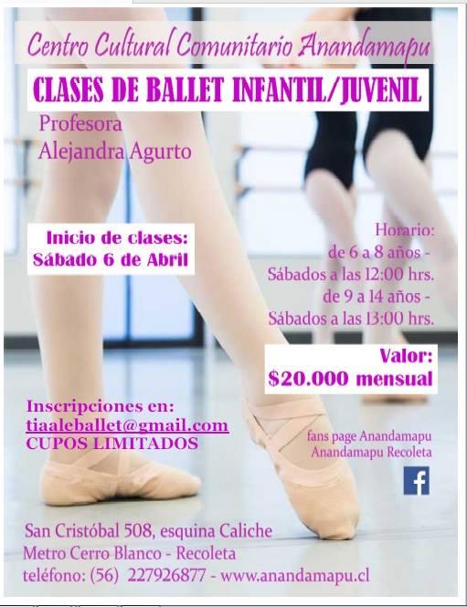 ballet infantil alejandra 2019
